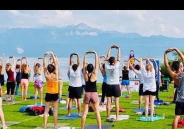 YOGA CELEBRATIONS IN LAUSANNE, Switzerland on...