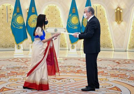 Ambassador Shubhdarshini Tripathi visits Kokshetau and Burabay (Kazakhstan) ...