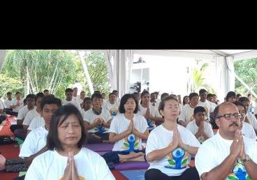 5th International Day of Yoga 2019 in Brunei ...