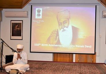 AZERBAIJAN: Celebrations of the 550th Birth Anniversary of Guru Nanak Devji in Baku (...