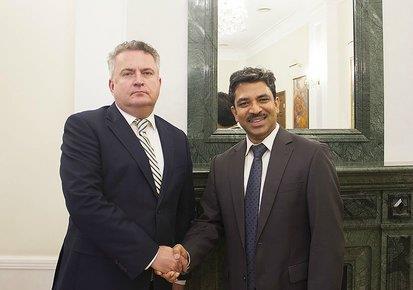 Ambassador of India to Ukraine, H.E. Mr. Partha Satpathy attended III International c...