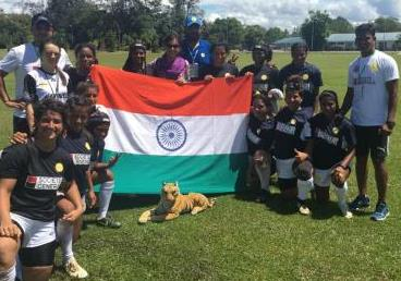 Press Release on visit of Indian Women's rugb...