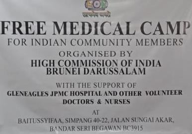 Free Medical Camp for Indian community member...