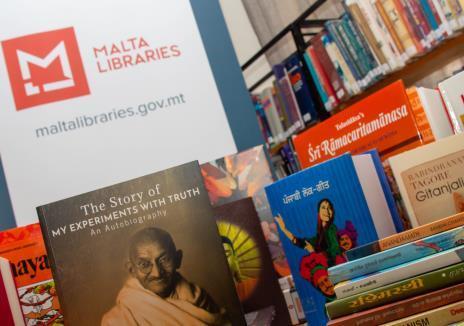INDIA CORNERS AT MALTA LIBRARIES (Malta)