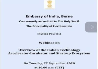 MISSP Live Webinar on 'Overview of Indian Technology Accelerator-Incubator & Star...