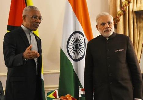 Flag hoisting of Indian Tricolour by High Com...