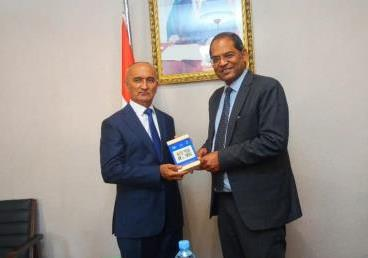 Tajikistan: Ambassador Viraj Singh met Tajik Minister of Education and Science (Tajik...