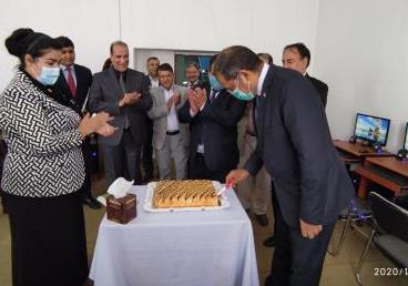 Tajikistan: Ambassador Viraj Singh inaugurated Computer Lab at Afghan Refugee School,...