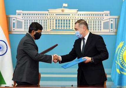 India-Kazakhstan Foreign Office Consultations...