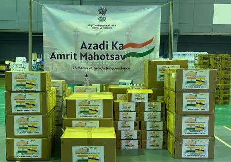 Donation of COVID Relief material to Ministry...