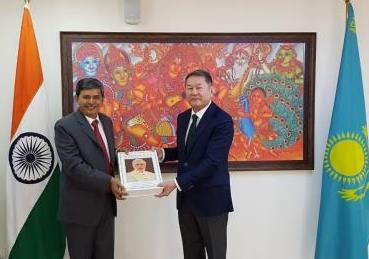 Embassy gifted a set of books to Foreign Policy Research Institute (FPRI), Nur-Sultan...
